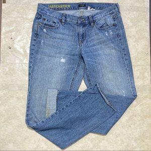 J.Crew Factory Matchstick Jeans Size 30